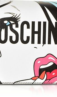 comic moschino hand bag