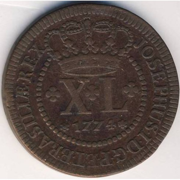 old 1770 brazil coin for sale